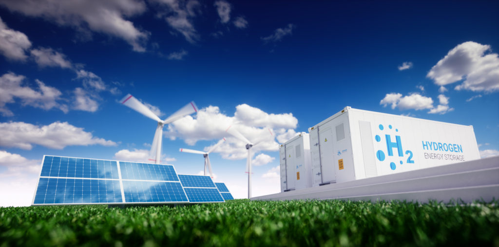 Hydrogen can become an important energy carrier in the future.