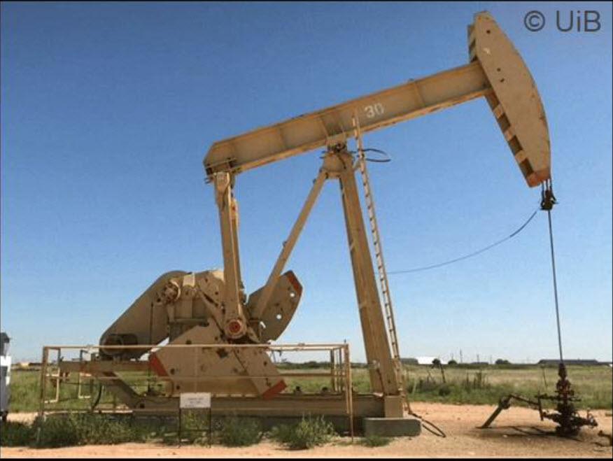 Fra testene i i East Seminole, Texas, med bruk av skum for å utvinne mer olje og lagre CO2.