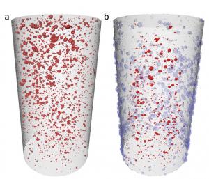 CT-scanning av ReStones sementplugg.